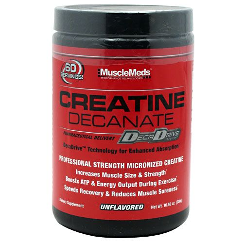 MuscleMeds Creatine Decanate Unflavored 60 Servings