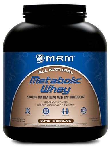 Metabolic Whey, By MRM, Rich Chocolate, 5lb Image