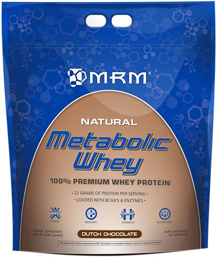 Metabolic Whey, By MRM, Chocolate, 10lb Image
