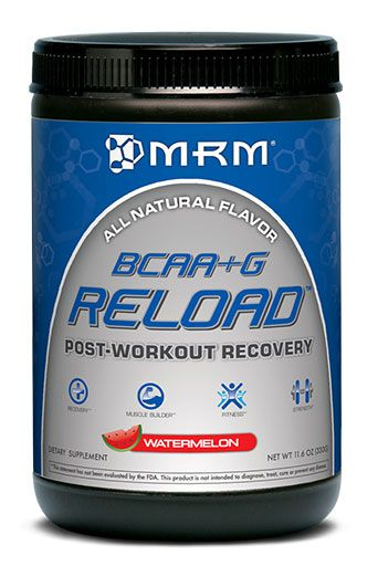 BCAA + G Reload, By MRM, Watermelon, 22 Servings Image
