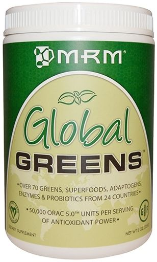 MRM Global Greens, 225 Grams