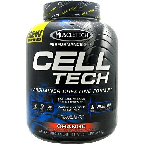 MuscleTech Performance Series Cell-Tech Orange 6 lbs Creatine