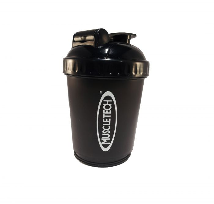 Muscletech Shaker Cup with compartment