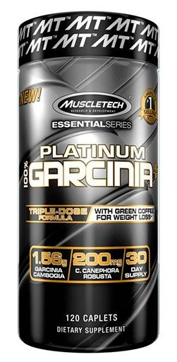 Platinum Garcinia Plus By MuscleTech, 120 Caps