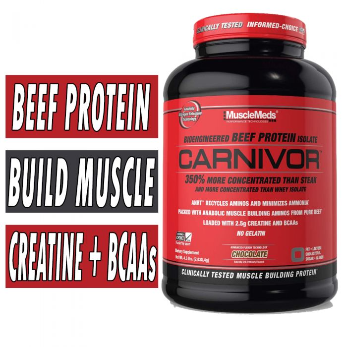 Carnivor Beef Protein By MuscleMeds Chocolate 4lb