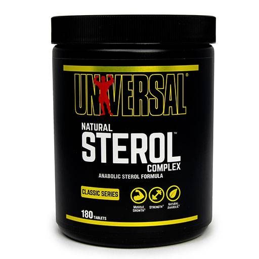 Natural Sterol Complex, Universal Nutrition, 180 Tabs