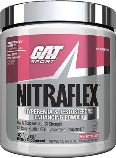 NITRAFLEX - PINK LEMONADE - 30 SERVINGS