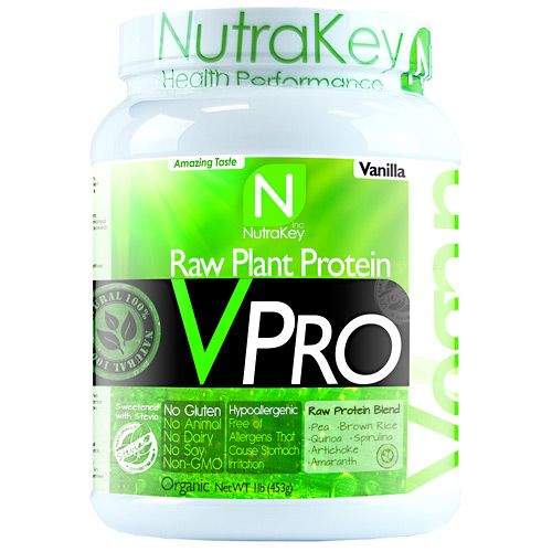 Vpro Protein, By NutraKey, Vanilla, 15 Servings,