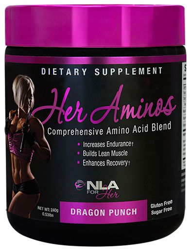 Her Aminos By NLA For Her, Dragon Punch, 30 Servings