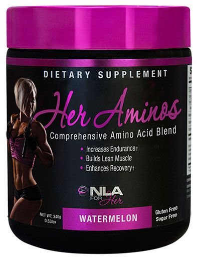 Her Aminos By NLA For Her, Watermelon, 30 Servings