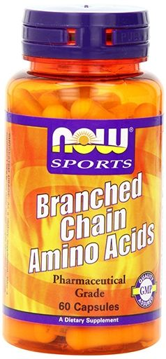 NOW Branched Chain Amino Acids - 60 Caps