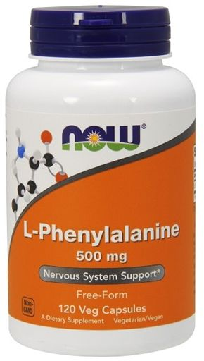NOW L-Phenylalanine 500 mg - 120 Caps