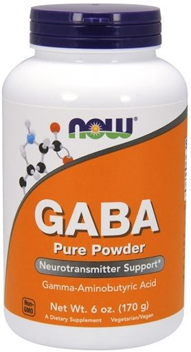 NOW GABA Powder - 6 oz.