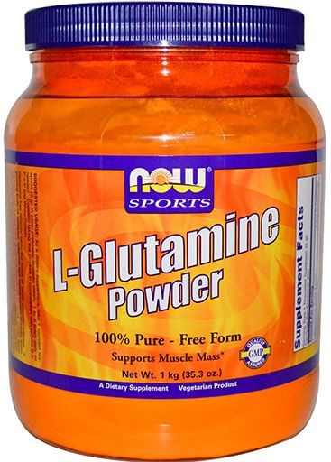 NOW L-Glutamine Powder - 1 kg