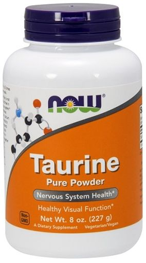 NOW Taurine Powder - 8 oz.