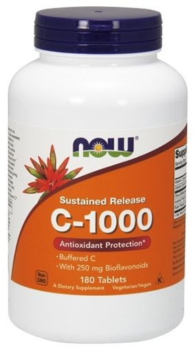 NOW Vitamin C-1000 Complex - 180 Tabs