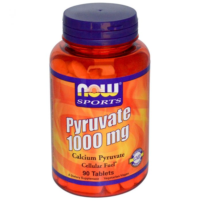 NOW Pyruvate 1000 mg - 90 Tabs