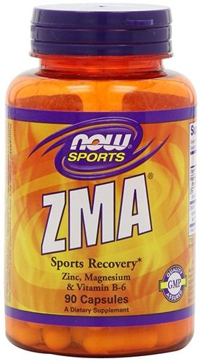 NOW ZMA Anabolic Sports Recovery - 90 Capsules