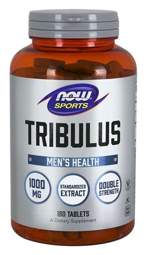 NOW Tribulus 1,000 mg - 180 Tablets
