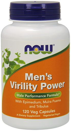 NOW Men's Virility Power - 120 Caps