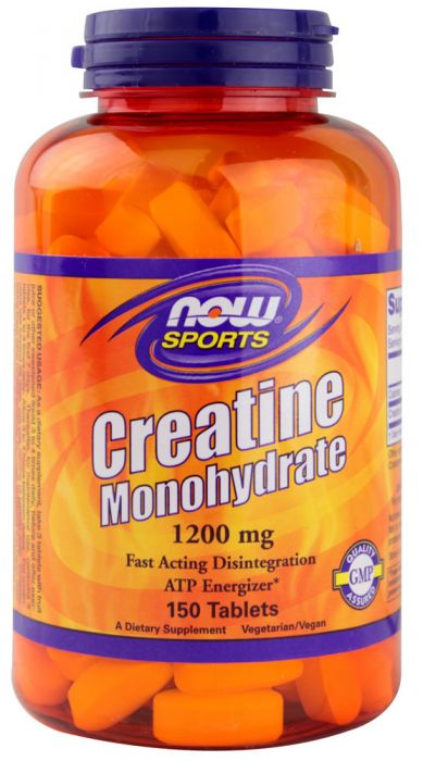 Now Foods Creatine Monohydrate 1200mg 150 Tabs