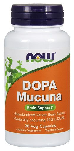 NOW Foods Dopa Mucuna 90 Vcaps