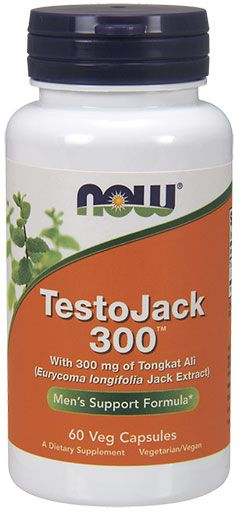 NOW Foods TestoJack 300 60 VCaps