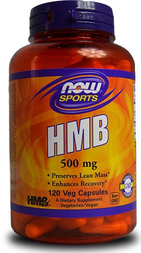 HMB By NOW Foods, 500 mg 120 Veg Caps Image