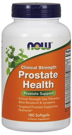 NOW Prostate Health Clinical Strength, 180 Softgels