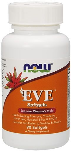 NOW EVE Multivitamin, 90 Softgels