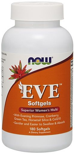 NOW EVE Multivitamin, 180 Softgels