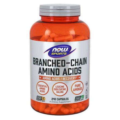 NOW Branched Chain Amino Acids - 240 Caps