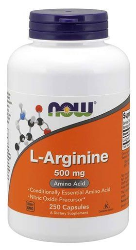 NOW Sports, L-Arginine, 500 mg, 250 Caps