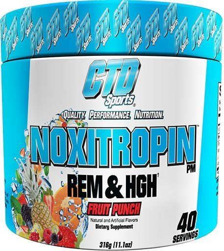 Noxitropin PM By CTD Sports, Fruit Punch, 40 Servings
