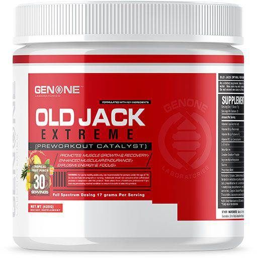 Old Jack Extreme By Genone Labs, Tropical Fruit Punch, 30 Servings