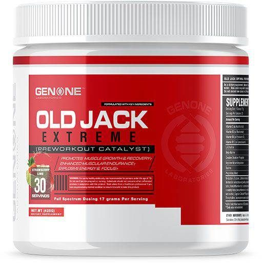 Old Jack Extreme By Genone Labs, Strawberry Lime, 30 Servings