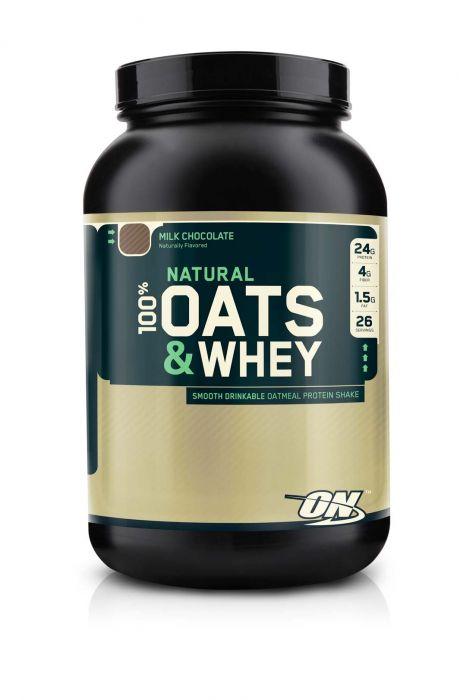 Optimum Nutrition 100% Natural Oats & Whey Chocolate 3lb