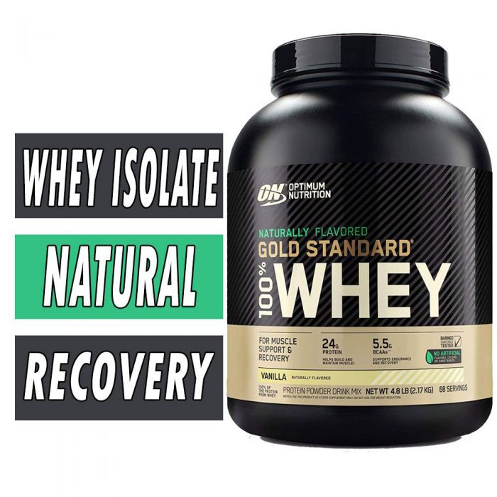 Gold Standard Natural Whey Protein By Optimum Nutrition