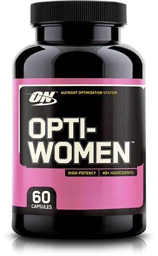 Optimum Nutrition Opti-Women, 60 Caps