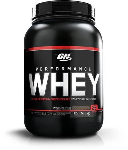 Performance Whey, Optimum Nutrition, Chocolate Protein, 25 Servings