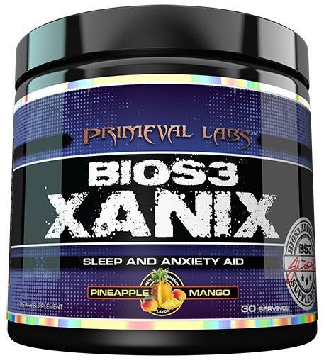 Xanix By Primeval Labs, Pineapple Mango, 30 Servings