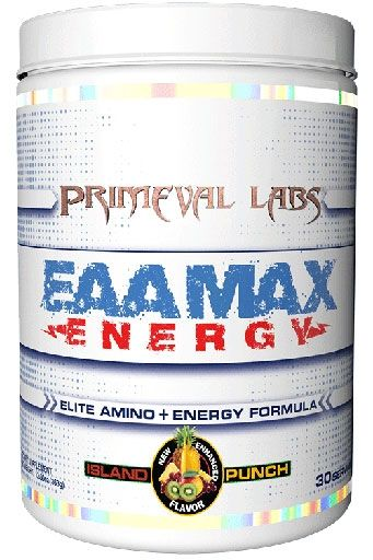 EAA Max Energy by Primeval Labs, Island Punch, 30 Servings
