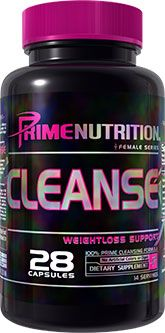 Cleanse By Prime Nutrition, 28 Caps Image