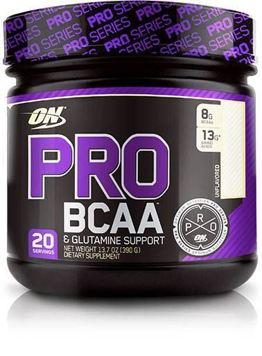 Optimum Nutrition Pro BCAA, Unflavored, 20 Servings