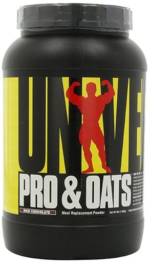 Pro and Oats By Universal Nutrition, Rich Chocolate 3lb