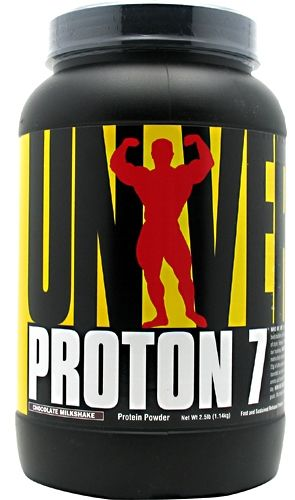 Proton 7 By Universal Nutrition, Protein Chocolate Milkshake 2.5lb