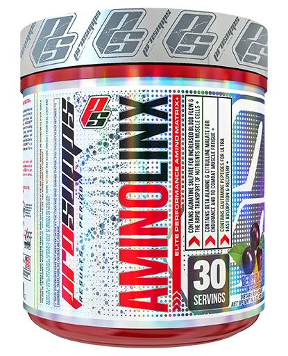 AminoLinx By Pro Supps, Amino Acids Acai Berry 30 Servings Image