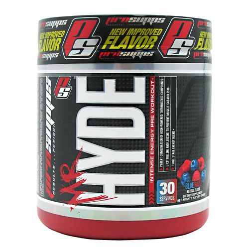 Mr. Hyde Pre-Workout By Pro Supps Blue Razz 30 Servings