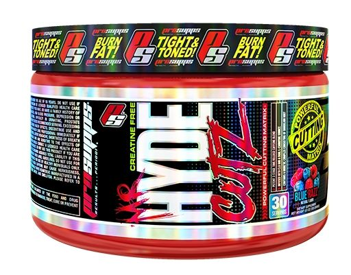 Mr Hyde CUTZ By Pro Supps, Blue Razz, 30 Servings