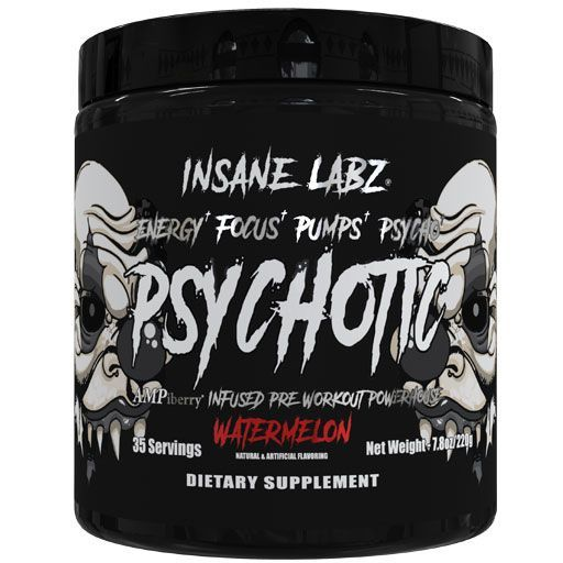Psychotic Black - Watermelon - 35 Servings